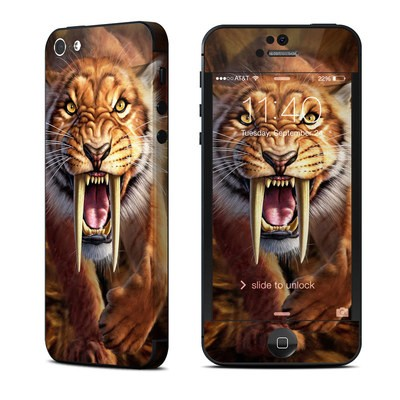 Apple iPhone 5 Skin - Sabertooth