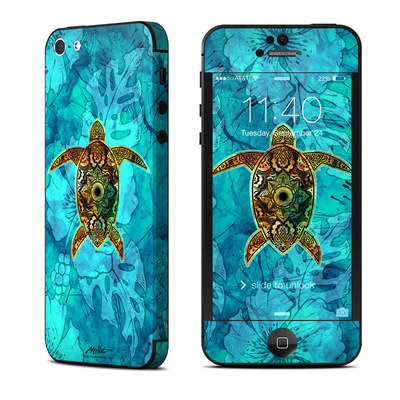 Apple iPhone 5 Skin - Sacred Honu