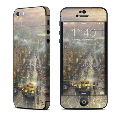 Apple iPhone 5 Skin - Heart of San Francisco