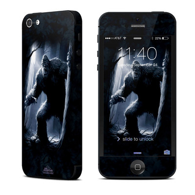 Apple iPhone 5 Skin - Sasquatch