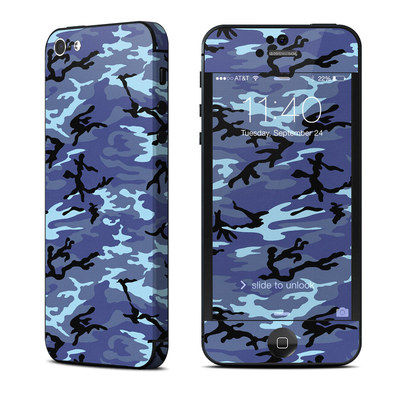 Apple iPhone 5 Skin - Sky Camo