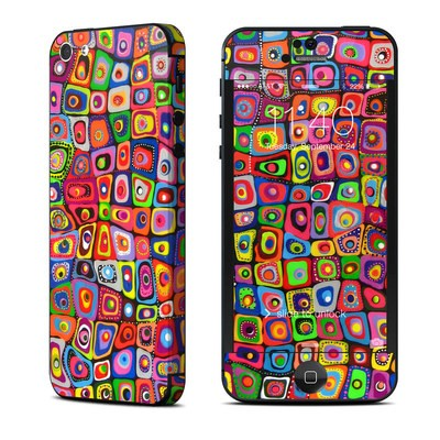 Apple iPhone 5 Skin - Square Dancing