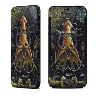 Apple iPhone 5 Skin - Sea Flowers