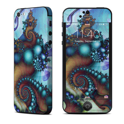Apple iPhone 5 Skin - Sea Jewel