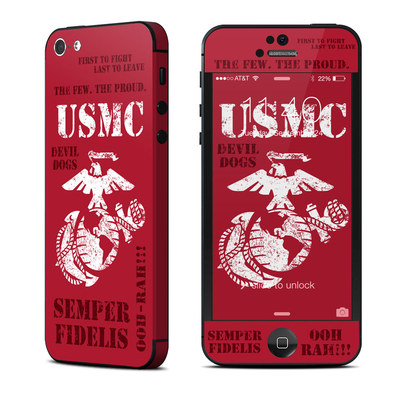 Apple iPhone 5 Skin - Semper Fi