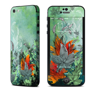 Apple iPhone 5 Skin - Sea Flora