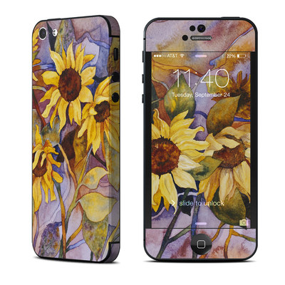 Apple iPhone 5 Skin - Sunflower