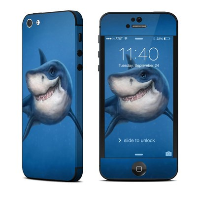 Apple iPhone 5 Skin - Shark Totem