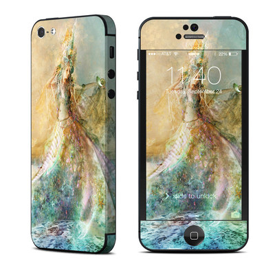 Apple iPhone 5 Skin - The Shell Maiden