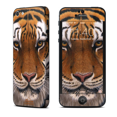 Apple iPhone 5 Skin - Siberian Tiger