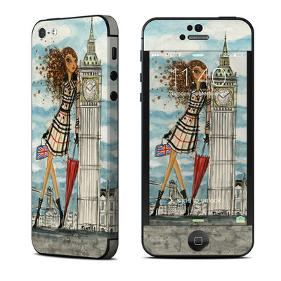 Apple iPhone 5 Skin - The Sights London