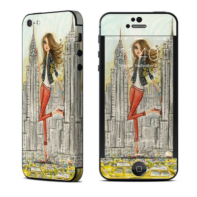 Apple iPhone 5 Skin - The Sights New York