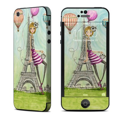 Apple iPhone 5 Skin - The Sights Paris