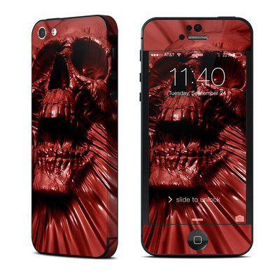 Apple iPhone 5 Skin - Skull Blood