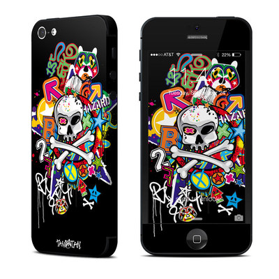 Apple iPhone 5 Skin - Skulldaze