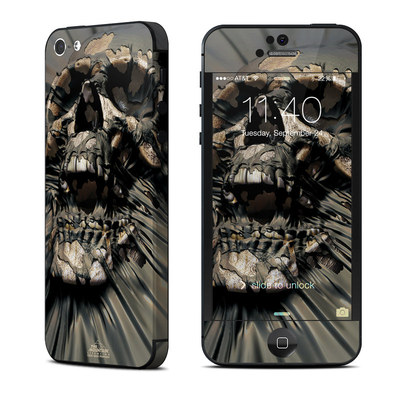 Apple iPhone 5 Skin - Skull Wrap
