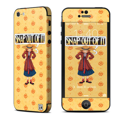 Apple iPhone 5 Skin - Snap Out Of It
