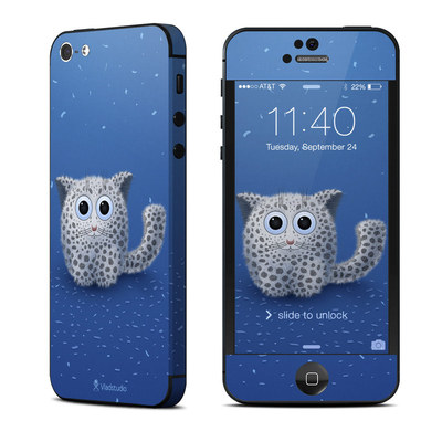Apple iPhone 5 Skin - Snow Leopard