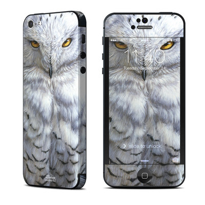 Apple iPhone 5 Skin - Snowy Owl