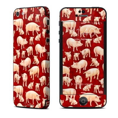 Apple iPhone 5 Skin - Some Pig