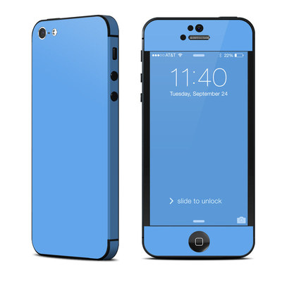 Apple iPhone 5 Skin - Solid State Blue
