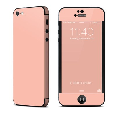 Apple iPhone 5 Skin - Solid State Peach