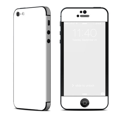 Apple iPhone 5 Skin - Solid State White