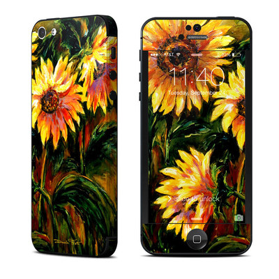 Apple iPhone 5 Skin - Sunflower Sunshine