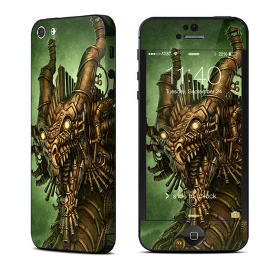 Apple iPhone 5 Skin - Steampunk Dragon