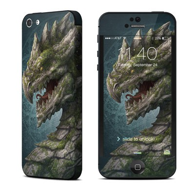 Apple iPhone 5 Skin - Stone Dragon
