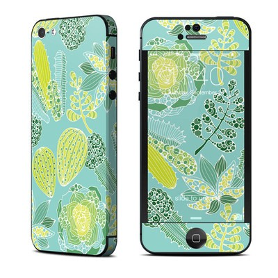Apple iPhone 5 Skin - Succulents