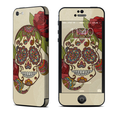 Apple iPhone 5 Skin - Sugar Skull