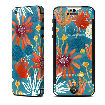 Apple iPhone 5 Skin - Sunbaked Blooms