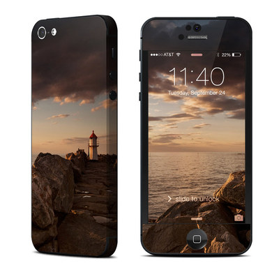Apple iPhone 5 Skin - Sunset Beacon