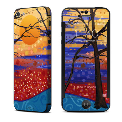 Apple iPhone 5 Skin - Sunset Moon