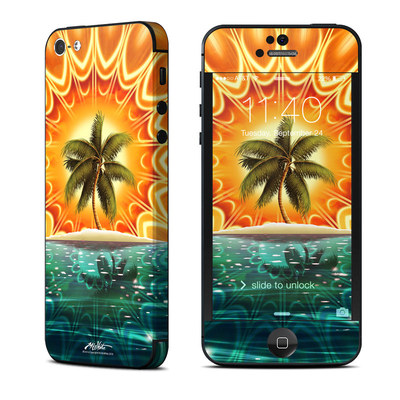 Apple iPhone 5 Skin - Sundala Tropic