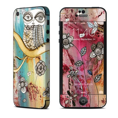 Apple iPhone 5 Skin - Surreal Owl