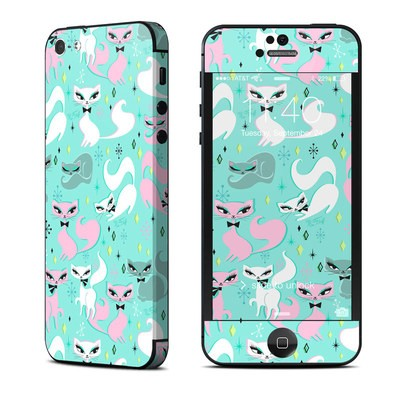 Apple iPhone 5 Skin - Swanky Kittens