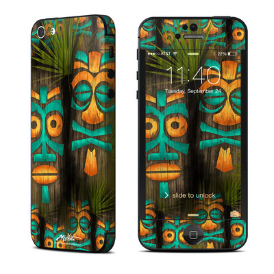 Apple iPhone 5 Skin - Tiki Abu