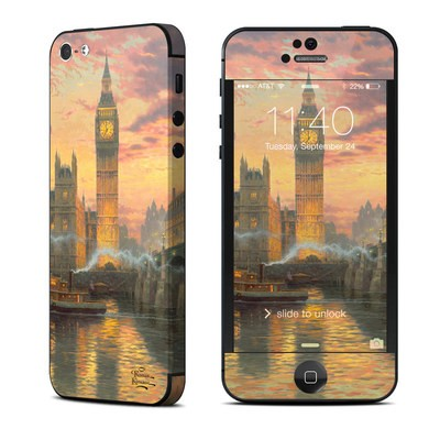 Apple iPhone 5 Skin - Thomas Kinkades London
