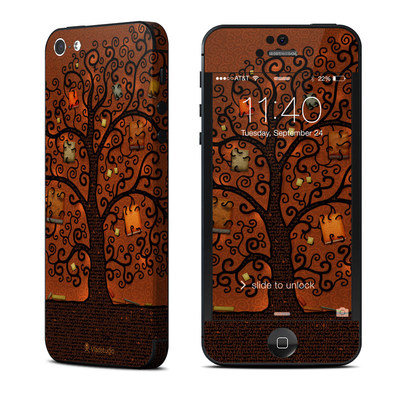 Apple iPhone 5 Skin - Tree Of Books