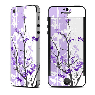 Apple iPhone 5 Skin - Violet Tranquility