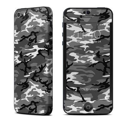 Apple iPhone 5 Skin - Urban Camo