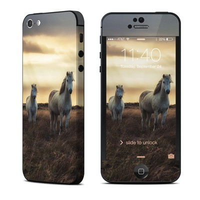 Apple iPhone 5 Skin - Hornless Unicorns