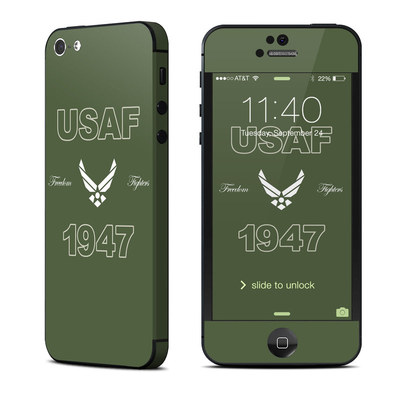Apple iPhone 5 Skin - USAF 1947