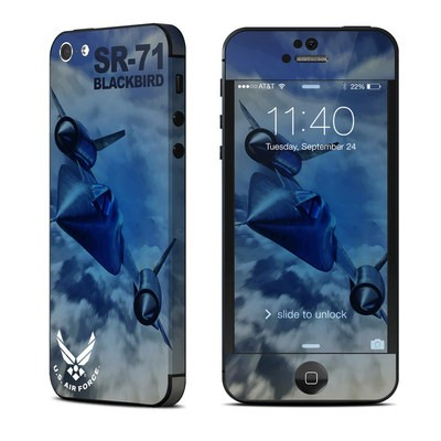 Apple iPhone 5 Skin - Blackbird