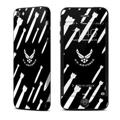 Apple iPhone 5 Skin - Bombs Away