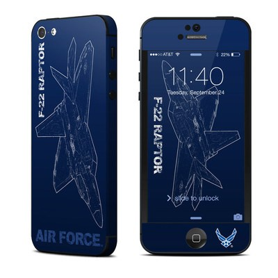 Apple iPhone 5 Skin - F-22 Raptor