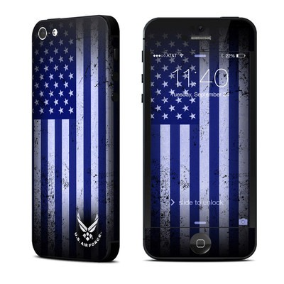 Apple iPhone 5 Skin - USAF Flag