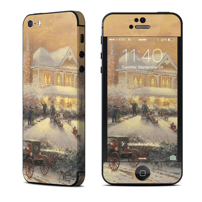 Apple iPhone 5 Skin - Victorian Christmas